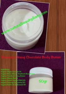 Tekstur Organic Body Butter