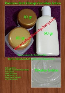 Premium Fruit Orange Cocoshea Lotion